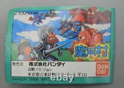 1986 vintage NINTENDO Capcom GHOSTS n' GOBLINS keshi figure set Bandai MAKAIMURA