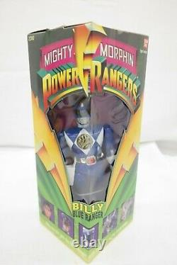 1993 Mighty Morphin Power Rangers 8 Action Figures Set of 5 with Bandai Box TY