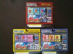 9 Action Figure Full Set Box 1+2+3 THE CYBORG SOLDIER 009 Bandai Zero Zero Numbe