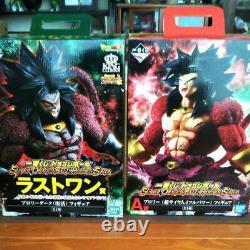 BANDAI Dragon Ball Broly & Dark Brody set Ichiban Kuji Japan Figure NEW