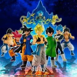 BANDAI HG Dragonball Super Movie ver Gokou Vegeta Fusion set figure F/S NEW
