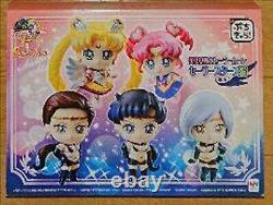BANDAI Mega House Sailor Moon Petit Chara Sailor Stars Version Set of 5 Figures