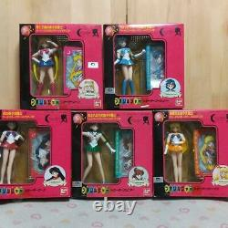 BANDAI Sailor Moon R Petit Soldier Figure Doll Set of 5 Old Toy 1993
