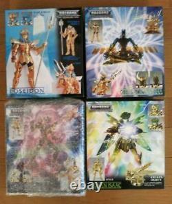 BANDAI Saint Seiya Cloth Myth Action Figure Poseidon Marine General 8 Set