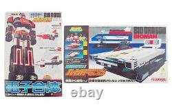 Bandai Chodenshi Bioman BIOROBO & Big Scale BIO DRAGON Set Vintage Action Figure