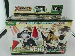Bandai Digimon Xros Wars Figure Series 07 Skull Knightmon & Deadly Axemon Set JP