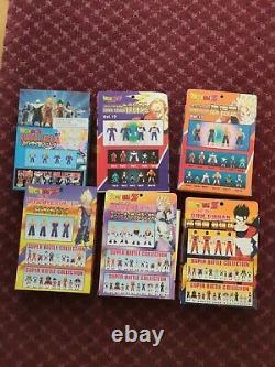 Bandai Dragon Ball Z Super Battle Collection 6 set action figures