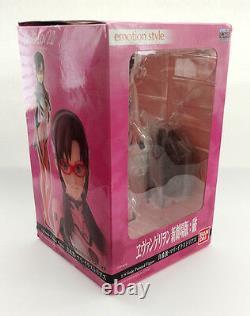 Bandai Emotion Style Rebuild of Evangelion Rei, Asuka, Makinami 1/8 Figure Set