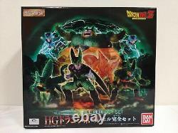 Bandai HG Dragon Ball Z Cell Perfect Set PVC 8 pcs Figure from Japan