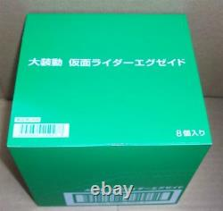 Bandai Kamen Rider EX-AID Dai SO-DO Set 8 Candy Toy Limited Figure NEW Japan F/S