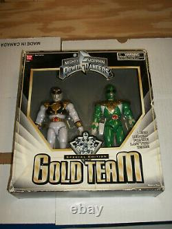 Bandai Mighty Morphin Power Rangers Special Edition GOLD TEAM Action Figure Set