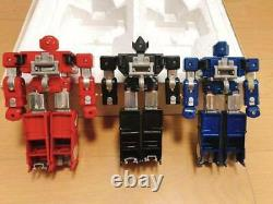 Bandai Popinica DX Kousoku Denjin Box Albegas Figure Toy Set of 3 Japan #3028