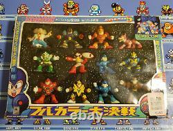 Bandai Rockman Mega Man 5 Ultra Rare Fullcolor Daikessen Figures Box Set 12pcs