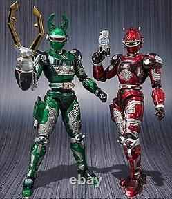 Bandai S. H. Figuarts Jyukou B-Fighter G Stag & Reddle Set Action Figure