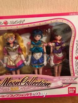 Bandai Sailor Moon Collection Deluxe Doll Figure 5 set Vintage Rare