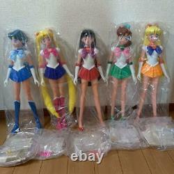 Bandai Sailor Moon R Excellent Doll 5 Complete set Figure