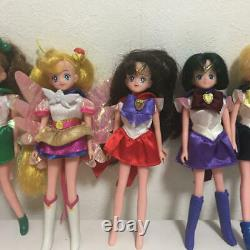 Bandai Sailor Moon Team Doll Figure collection 11 set Very Rare