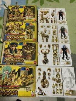 Bandai Saint Seiya Gold Cloth 12 Pieces Set Action Figure 1987 Vintage Retro