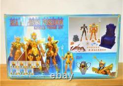 Bandai Saint Seiya Myth Cloth EX Sea Emperor Poseidon Imperial Throne Set Figure
