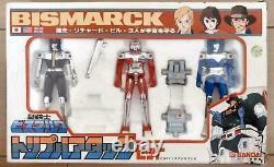 Bandai Star Musketeer Bismarck Triple Attack Set Action Figure