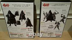Bandai Tamashii Star Wars Samurai Darth Vader & Ashigaru Stormtrooper Figure Set