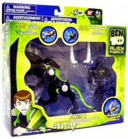 Ben 10 Alien Force Alien Creatures Alien X Action Figure Set
