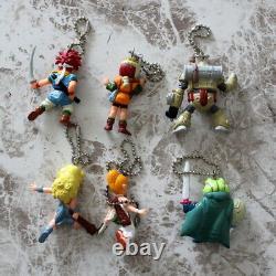 Chrono Trigger Swing PVC Key Ring 6 Figure Set Bandai