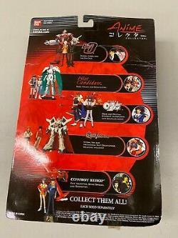 Cowboy Bebop Bandai Anime Collection Figure Set Swordfish Spike Faye Ein