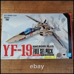 DX Chogokin Macross Plus YF-19 Full Set Pack Action Figure BANDAI OVA