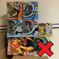 D-Arts Pokemon S. H. Figuarts Bandai Figure 6 set Charizard Mewtwo Piakchu