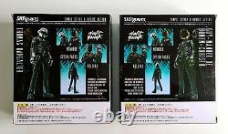 Daft Punk Set of x2 Bandai S. H. F Collectible Figures (UK SELLER)