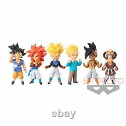 Dragon Ball GT World Collectable Figure WCF vol. 2 All 6 type set Japan F/S NEW