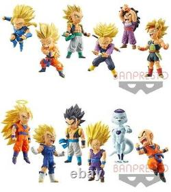 Dragon Ball Legends Collab World Collectable Figure WCF vol. 1&2 All 12 type set