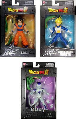 Dragon Stars Series 2 Action Figure Set Goku, SS Vegeta & Final Form Frieza