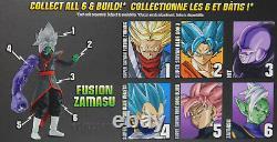 Dragon Stars Series 3 & 4 Action Figure Set SSGSS Goku, Rose Goku, BAF Zamasu+