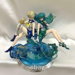 Figuarts Zero chouette Sailor Uranus Neptune set Figure Anime 160 mm Bandai
