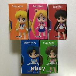 Figuarts mini Sailor Moon Mercury Mars Jupiter Venus 5set Figure New Unopened