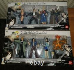 Final Fantasy VIII 8 Bandai Complete Box Set of 9 Figures