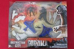 Godzilla 2014 Destruction City Play set Diorama Bandai Figure