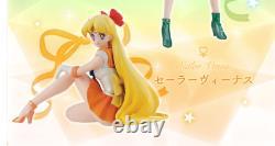 HGIF Sailor Moon Premium Collection Figure set Mercury Mars Jupiter Venus BANDAI