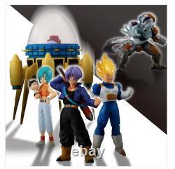 HG Dragon Ball Another Super Saiyan Figure Bulma Trunks Vegeta Freeza set Bandai