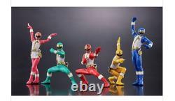 HG Gosei Sentai Dairanger Figure 5 set 111mm BANDAI 2021 Anime