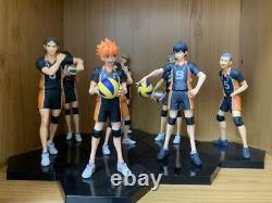 Haikyuu! DXF Figure 8 Set Wholesale Lot Anime Banpresto Bandai Used