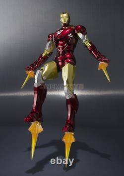 IRON MAN Mark VI & Hall of Armor Set S. H. Figuarts Action Figure Bandai Tamashii