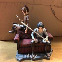 Ichiban Kuji Attack on Titan Figure Advance to freedom Complete set Levi No Box