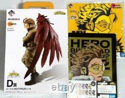 Ichiban Kuji My Hero Academia I'm Ready Prize D Hawks Figure & Prize F G Set NEW