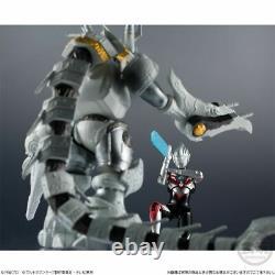 Japan Rare Shokugan Chodo Ultraman Orb Origin & Galactron mini Action Figure set