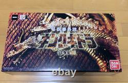 Kaiju Bangaichi King Ghidorah 1964 Figure 3 neck set Premium Bandai