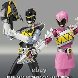 Kb10 S. H. Figuarts Zyuden Sentai Kyoryuger KYORYU BLACK & PINK Set Figure BANDAI