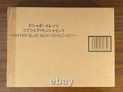 Love Live Sunshine Figure Set Bandai Gasha Portraits Water Blue New World Ver
